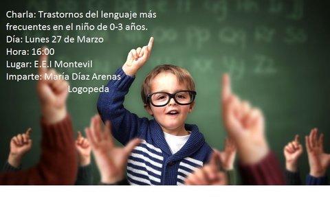 Maria Diaz Logopeda - Charla Informativa en la E.E.I de Montevil - María Díaz Logopeda